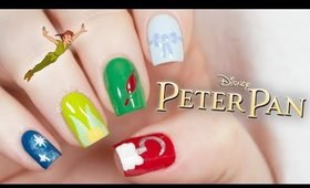 Peter Pan Nails | Disney Nail Art | NailsByErin