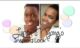 Tutorial: Lupita Nyong'o Inspired (Celebrity Inspired Collab)