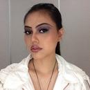 Test makeup, simple smoky faux punk look