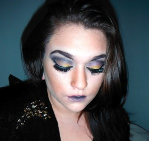 tried something more dramatic tell me what you think!  facebook.com/makeuppbyLC youtube.com/lowranmarie lowranmarie.tumblr.com @lowranmarie=twitter/instagram