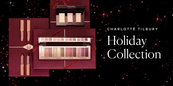 Charlotte Tilbury's Holiday Collection is here – shop now.