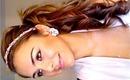 Bohemian Chic Wavy Side Ponytail Hair