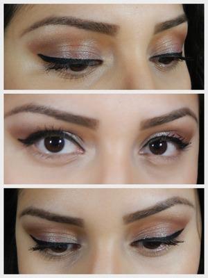 Fun eye look with some glitter. Full product list is up on my blog www.anareczynski.blogspot.com
