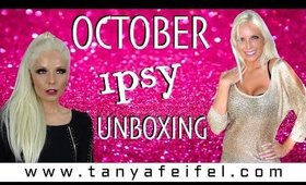October IPSY | Halloween Theme | Unboxing | Review| Tanya Feifel-Rhodes