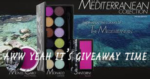 Giving away the Sleek Mediterranean collection over at my blog