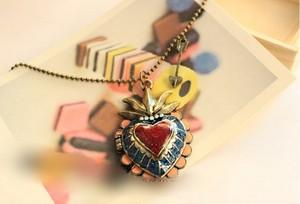 vintage locket necklace1
