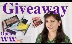 2k Celebration Makeup Giveaway For My Subscribers: Open Worldwide
