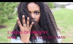 Kinkistry Natural Hair Extensions Update