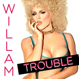 From Rupaul's Drag Race Season 4 Single Cover - TROUBLE Photo by Austin Young