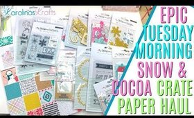 EPIC HAUL Snow and Cocoa everything, This Weeks Tuesday Morning HAUL Snow & Cocoa