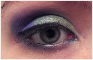 """Kind of sloppy because I was just playing at like 11 at night, but I tried to do a """"Majora's Mask"""" inspired look."""