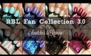 Rescue Beauty Lounge Fan Collection 3.0 | Swatches & Reviews