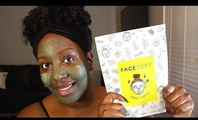 FACE MASK & CHILL | October Facetory Unboxing + GIVEAWAY!