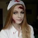 Misfits Inspired Nurse Halloween Costume