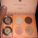 Another picture of the benefit eyeshadow kit open