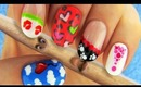 Nail tutorial using only a toothpick. 6 Nail Art Designs