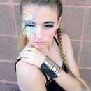 Cyborg makeup