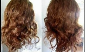 How To: Heatless Headband Curls
