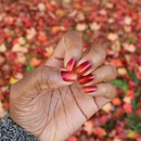 Ombre fall nails - (Late upload)