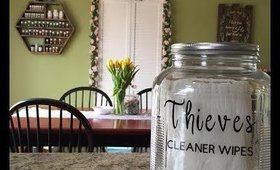 DIY Thieves Wipes (Plant-based Cleaner)
