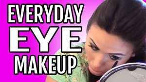 "In this video I reveal my ""everyday eye makeup"" in a tutorial that lasts about 5 minutes. Check it out and Subscribe!!"