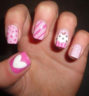 Super super easy nails