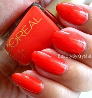 review: http://www.beautybykrystal.com/2013/04/my-little-loreal-polish-collection.html