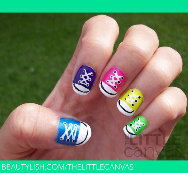 085c906660b2 Converse Nail Art