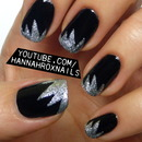 Easy New Years Nail Art