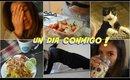 🔥VLOG un dia conmigo a dieta  ! ☀️🌛/ A day with me ! | auroramakeup