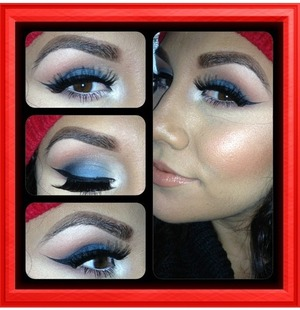 Love this for a daytime smokey look
