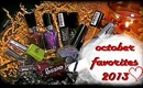 October 2013 Favorite Nail Polishes