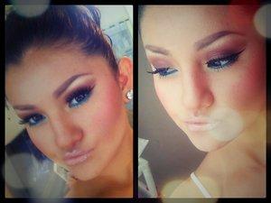 i hope u girls like this makeup  instagram : gehcrazy