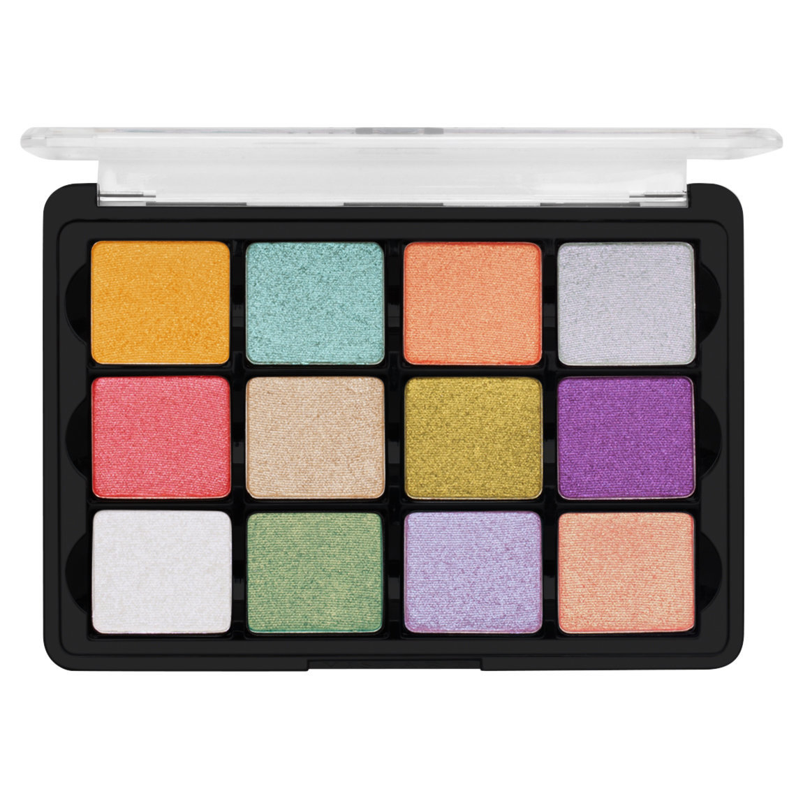 Viseart Eye Shadow Palette 12 Coy product smear.