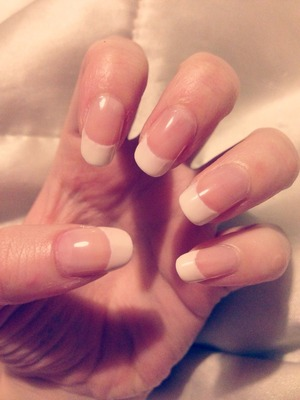 Practicing my French tips, almost perfect 😊