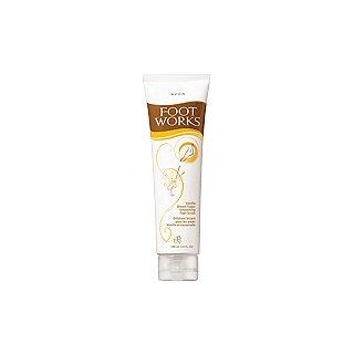 Avon Foot Works Vanilla & Brown Sugar Smoothing Scrub