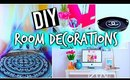 DIY room decorations + Organization