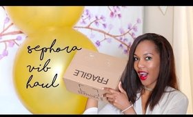 FINALLY!!! Sephora VIB Sale Haul 2016 ◌ alishainc