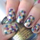 Mosaic art nail
