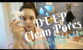 Deep Clean Skin and Unclog Pores with Duvolle Radiance Spin-Care System