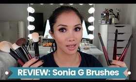 SONIA G BRUSH REVIEW | THE FUNDAMENTAL BRUSH SET | xena kai