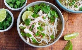 Shortcut Vietnamese Chicken Pho (low calorie)