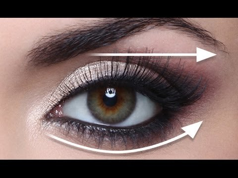 The Straight Line Technique For Hooded Eyes Full Demo