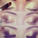Shimmer Gold Eyeshadow