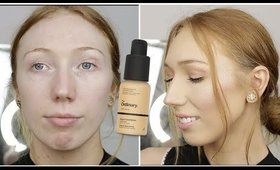 £5 SERUM FOUNDATION - THE ORDINARY COLOURS FIRST IMPRESSION!