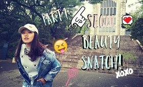 BEAUTY SNATCH FROM SEOUL TRIP P.1   Too Cool For School, Mammode, Etude House, Laneige, Labiotte,