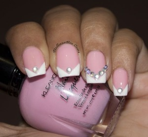 http://www.bellezzabee.com/2013/06/bridal-bling-v-french-manicure.html