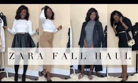 ZARA BASICS FALL HAUL  | @rachaelnalumu