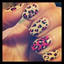 Pink cheetah and nude!