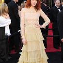 Florence Welch at the 2011 Grammys (Source: JustJared)